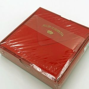 Vellum of Crown Mill Red Stationary